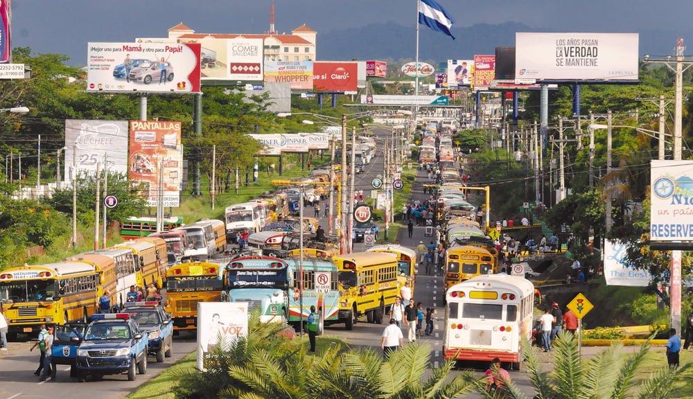 Evitá el tráfico: el mapa del Carnaval de Managua