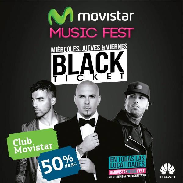 df842dab53b Las entradas al Music Fest 2015 están a 50% menos. Ahora sí