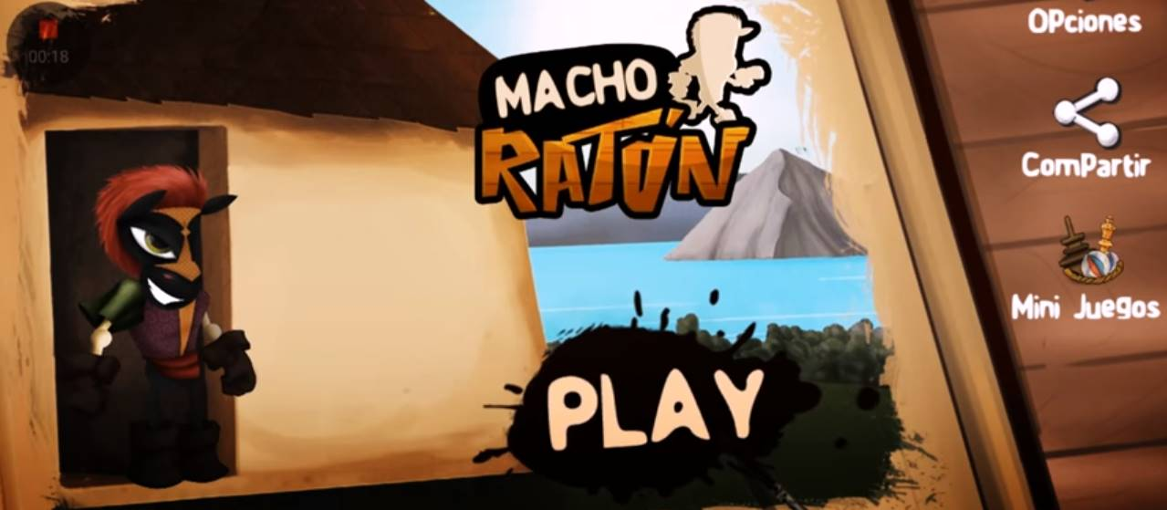 Ya descargaste el nuevo juego hecho en nicaragua macho rat n - Raton en casa ...