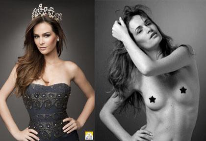 Miss Brasil Priscila Machado Desnuda Y No Pierde La Corona